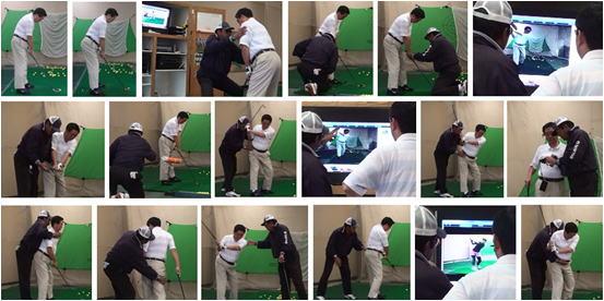 シニアゴルファー 63歳D様が、シニアゴルフスクールへゴルフ留学に来られました。