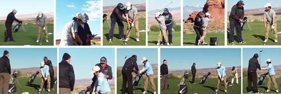 59歳 M様がシニアゴルフスクールへ短期ゴルフ留学され、80前後でプレーされる様になり大変満足してご帰国されました。